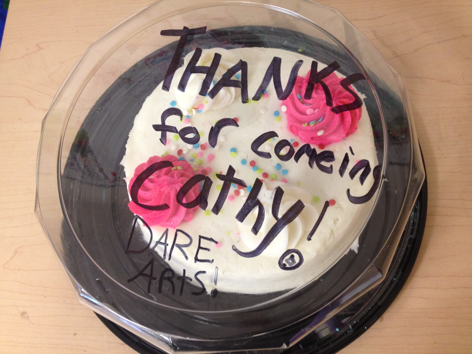 Cathy takes the cake