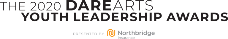 The 2020 DareArts Youth Leadership Awards